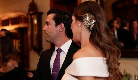 Alejandro y Estefanía.