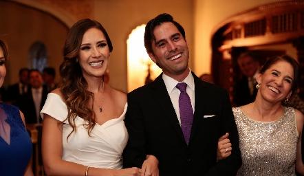 Estefanía Gutiérrez y Alejandro González.