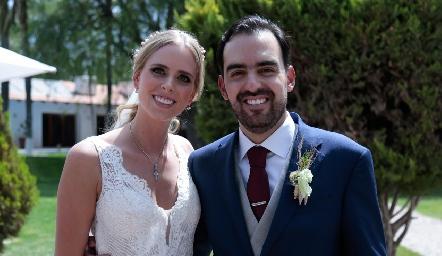 Ingrid Velasco y Rafael Olmos ya son esposos.