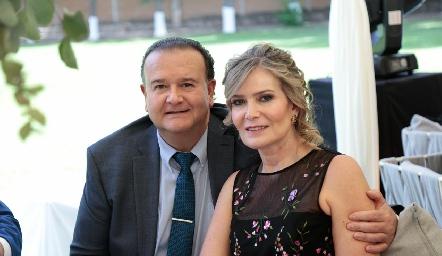 Felipe Martín Alba y María Amelia Vargas.