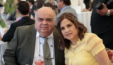 Francisco Cabrera y Margarita Martínez.