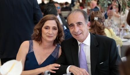 Mónica y José Medlich.