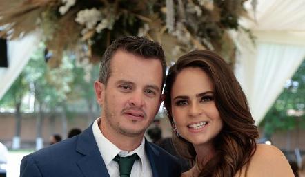 Eduardo Zermeño y Marianne Velasco.