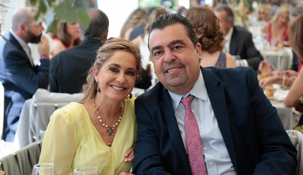 Patricia Gaviño y Héctor Gómez.
