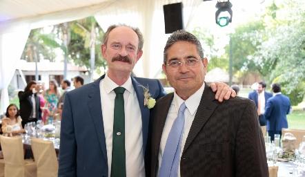 Sergio Velasco y Gerardo Rodríguez.
