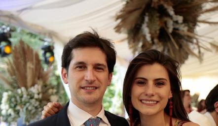 Samuel Scott y Tere Cadena.