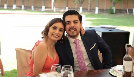 Ana Sofía Rodríguez y Luis Portugal.