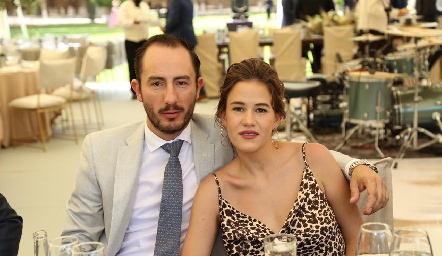 Poncho López y Montse Barral.