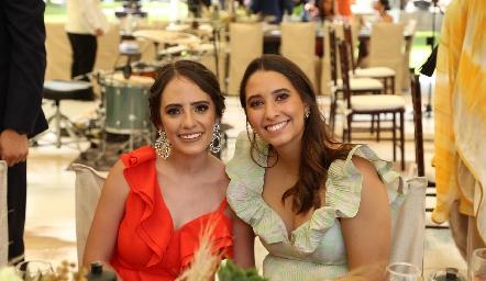 Ale Ascanio y Sofía Leiva.