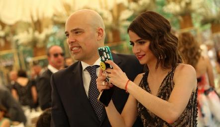 Germán Sotomayor y Mónica Medlich.