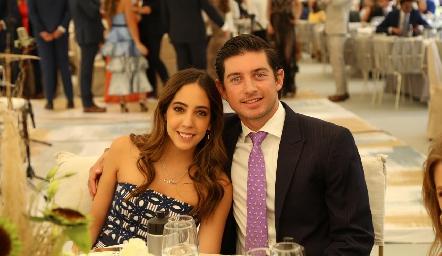 Alejandra Villarreal y Diego Cerecedo.