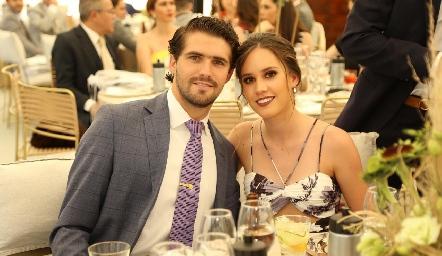 Gerardo Gómez y Nuria Manzo.