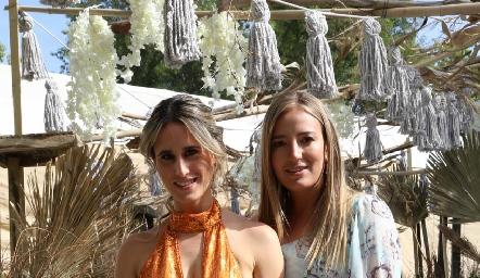 Anna Ortuño y Gaby Del Valle.