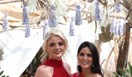 María Lorca y Maribel Rodríguez.
