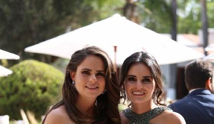 Marianne Velasco y Adriana Olmos.