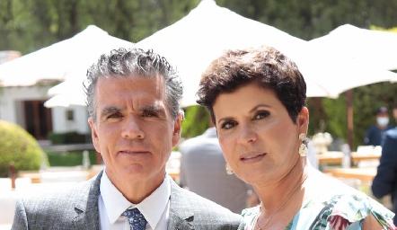 Luis Motilla y Vero Martínez.
