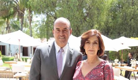 Calolo Pérez y Coco Mendizábal.