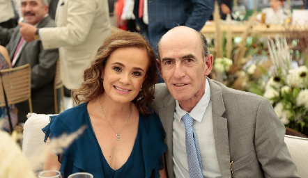 Gabriela Rodríguez y Miguel Olmos.