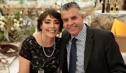 Fabiola y Eduardo Villasuso.