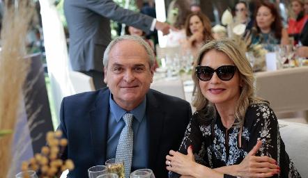 Eugenio Torre y Liz Carrillo.