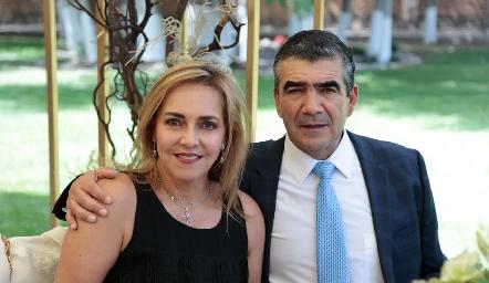 Mimí Hinojosa y Horacio Tobías.