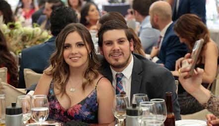 Marisol Cabrera y Edgar Olguín.