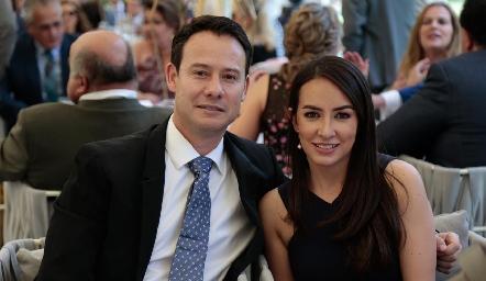 Oscar Foyo y Sandra de la Garza.