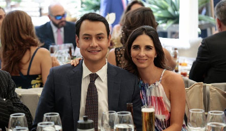 Ricardo Leos y Marina Jourdain.