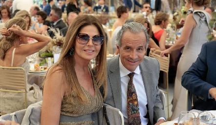Martha Díez Gutiérrez y Francisco de la Rosa.