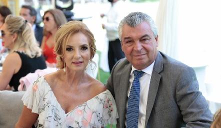 Rocío Mexicano y Gerardo Labastida.