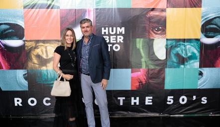 Ana y Oscar Zermeño.