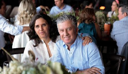 Claudia Martínez y Jorge Gómez.