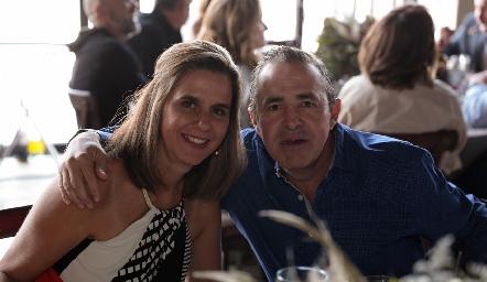 Rocío Gallegos y Gerardo Valle.