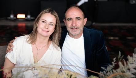 Gabriela Artolózaga y Juan Carlos Nieto.