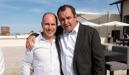 Pablo Díaz del Castillo y Humberto Abaroa.