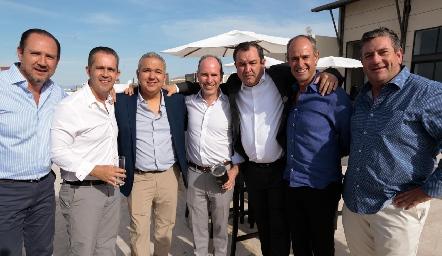 Manuel Toledo, Eduardo Espinosa, Jorge Villarreal, Pablo Díaz del Castillo, Humberto Abaroa, Gildo Gutiérrez y Jacobo Payán.