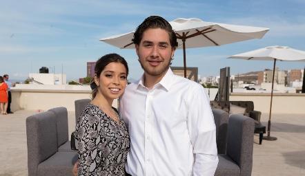 Natalia Gaviño y Humberto Abaroa.
