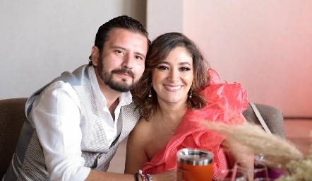 Gabriel Andrade y Marlin Pérez.