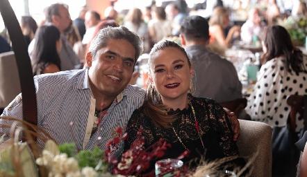 Guillermo Espinosa y Teresa Urriza.