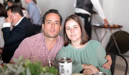 Agustín Salgado y Mila Nemer.