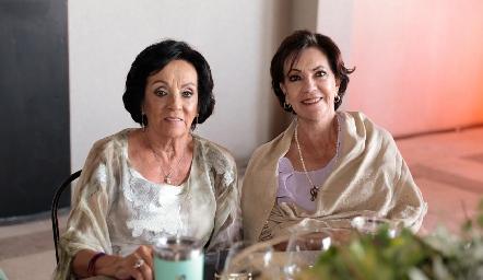 Susana Félix y Rosa Elena Nieto.
