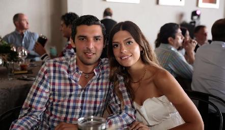 Jerónimo Labastida y María José Macías.