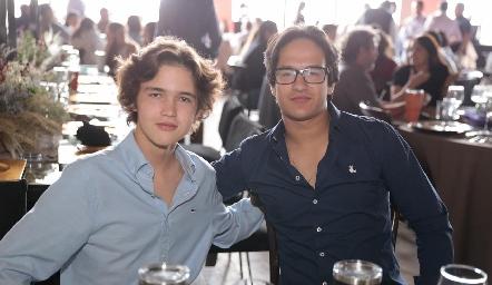 Leo Rico y Jorge Aguilar.
