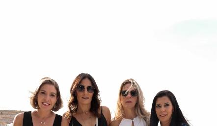 Cecilia Limón, Claudia Artolózaga, Verónica Berrón y Paty Tanus.