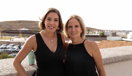 Cecilia Limón e Ivette Coulon.