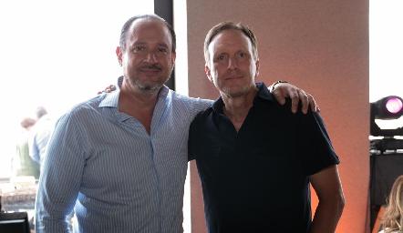 Manuel Toledo y Federico García.