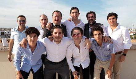 Familia Abaroa.