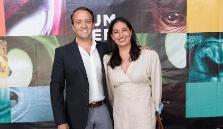 Javier Algara y Martha Morales.