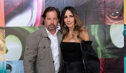 Javier Fernández y Liliana Soto.