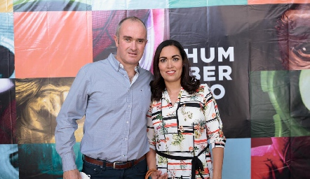 Rodrigo y Berenice Hernández.